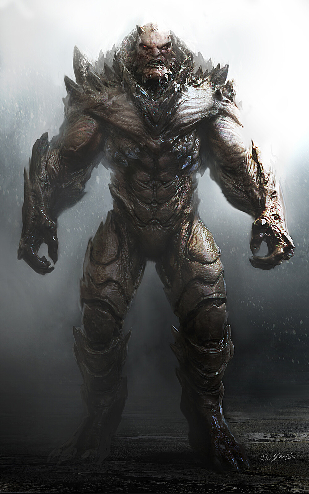 Doomsday Concept Art for Batman V Superman
