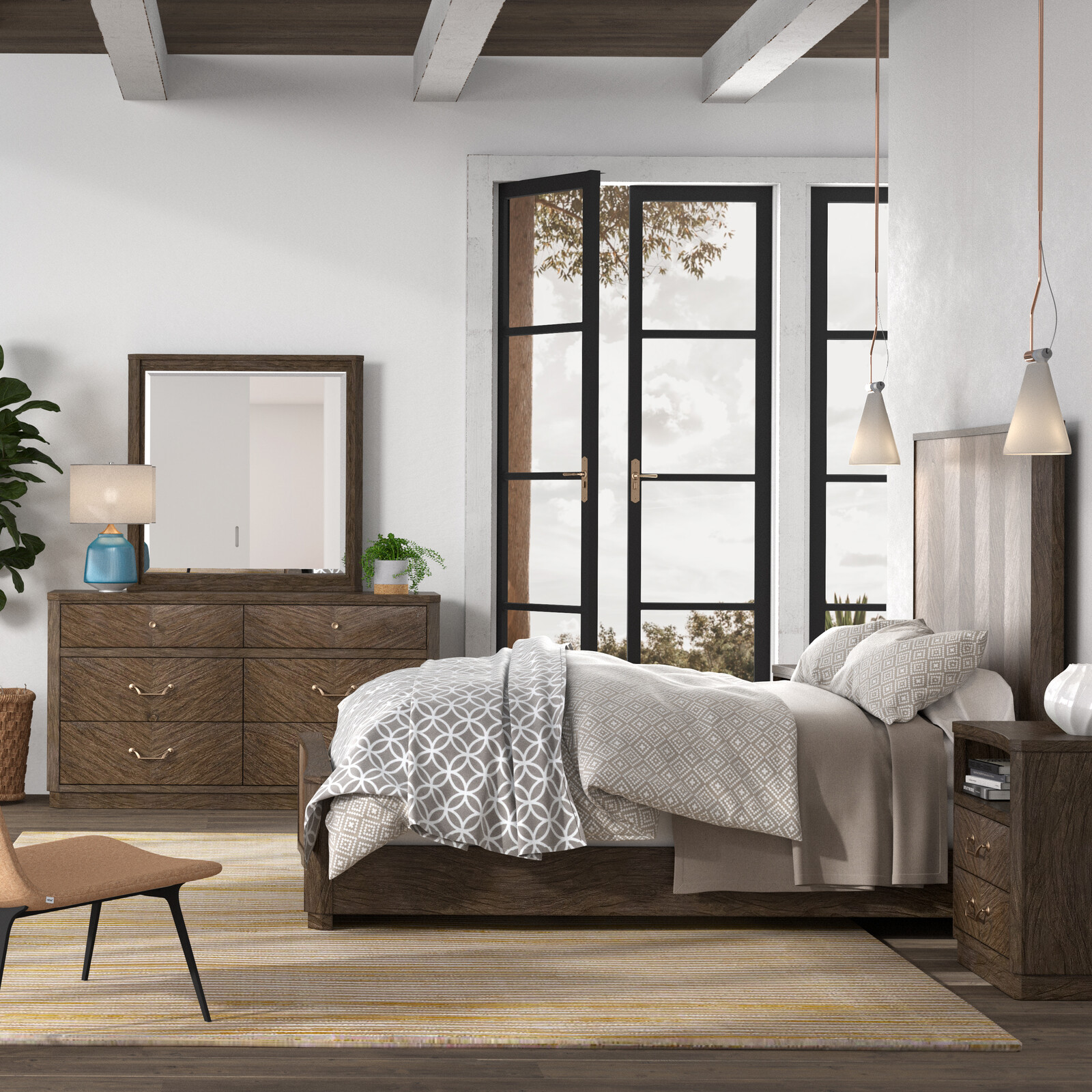 American WoodCrafters Bedroom