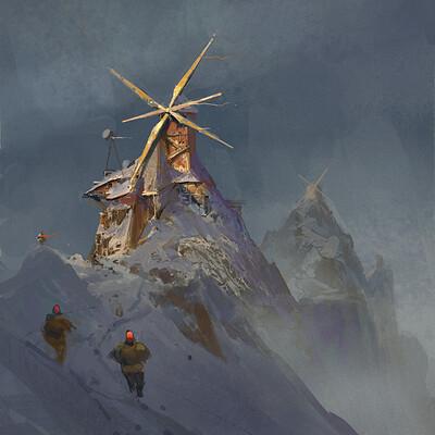 Dimitar marinski windmill