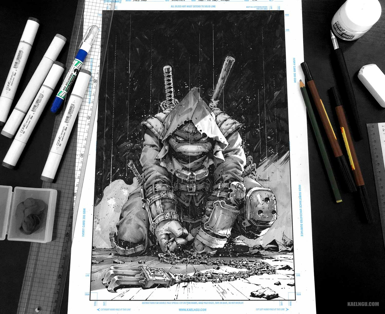 tmnt the last ronin cover art