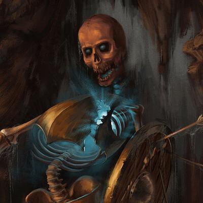 Wojciech dudzinski wojciech dudzinski skeleton warrior wojciech dudzinski