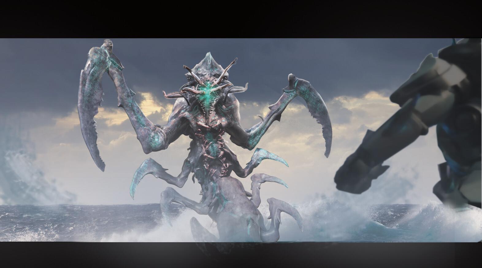 Breach Kaiju Concept : Pacific Rim: UPRISING
