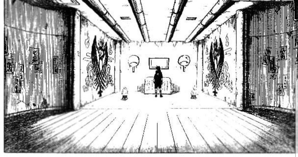 Original Manga Reference for Uchiha Hideout