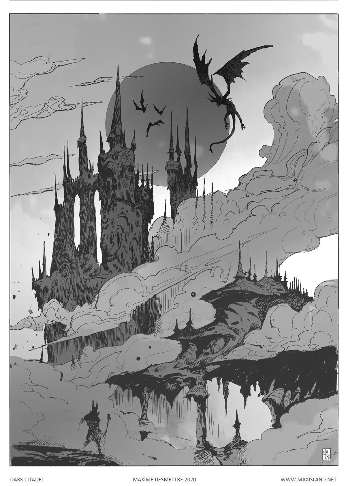 Dark Citadel Pen & Digital (2020)