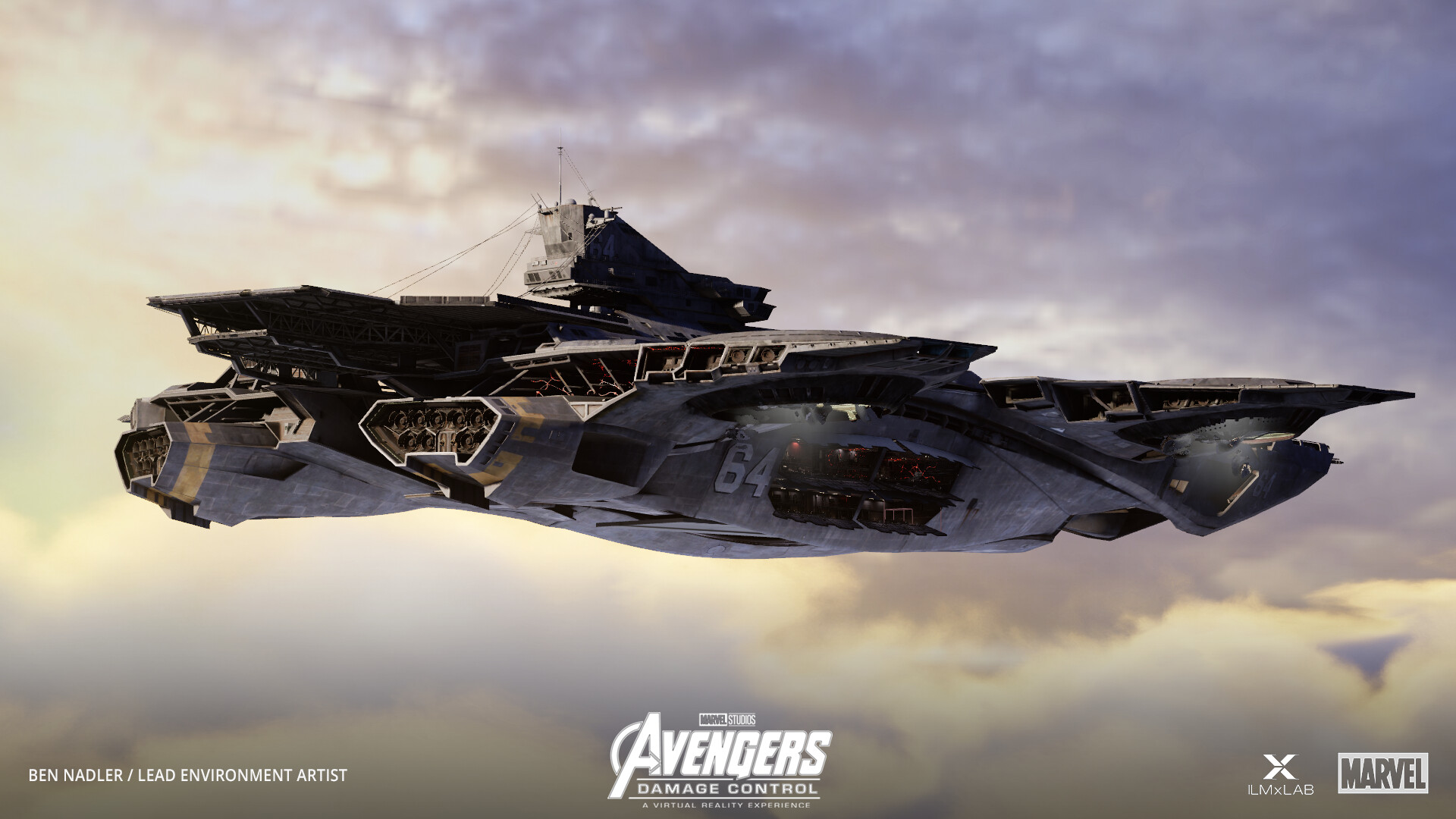 Helicarrier in engine