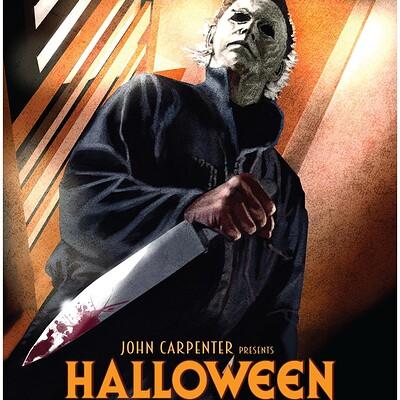 Paul butcher a3 halloween poster etsy