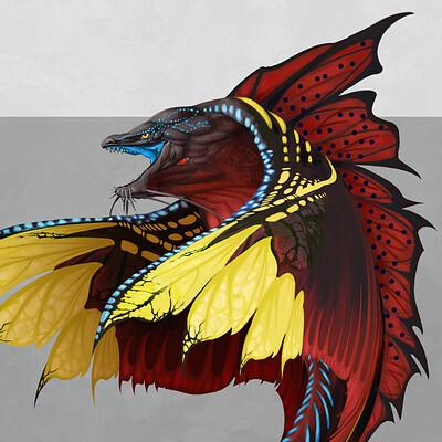 Yen shu liao stormlightarchive skyeel greater creature concept main yen shu liao