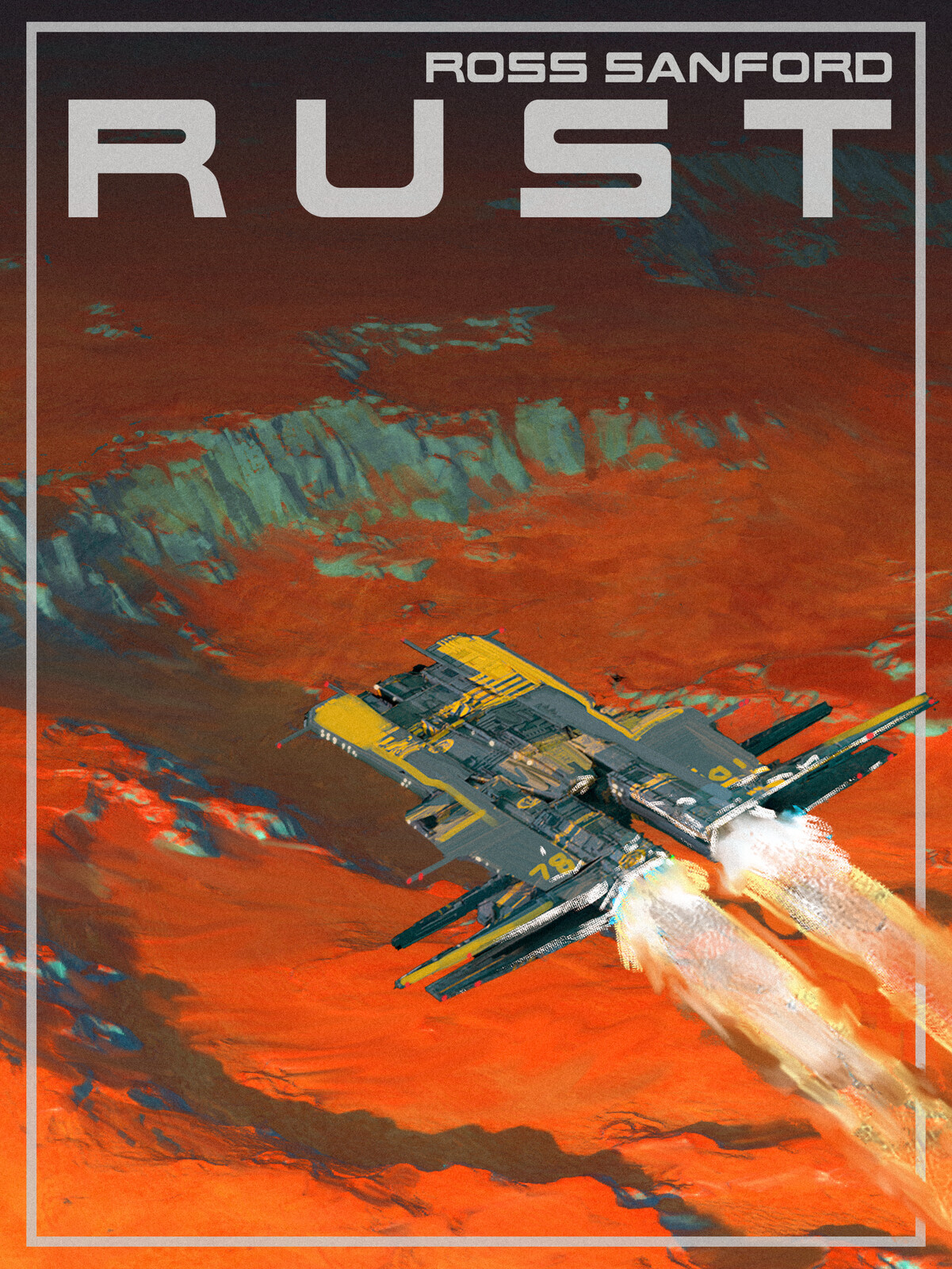Rust: fake book cover