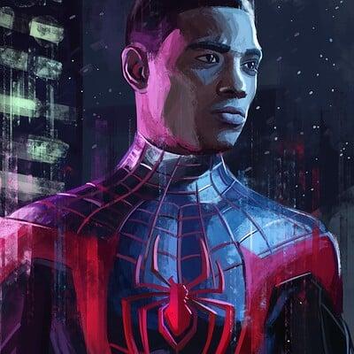 Mayank kumarr spider man miles 1