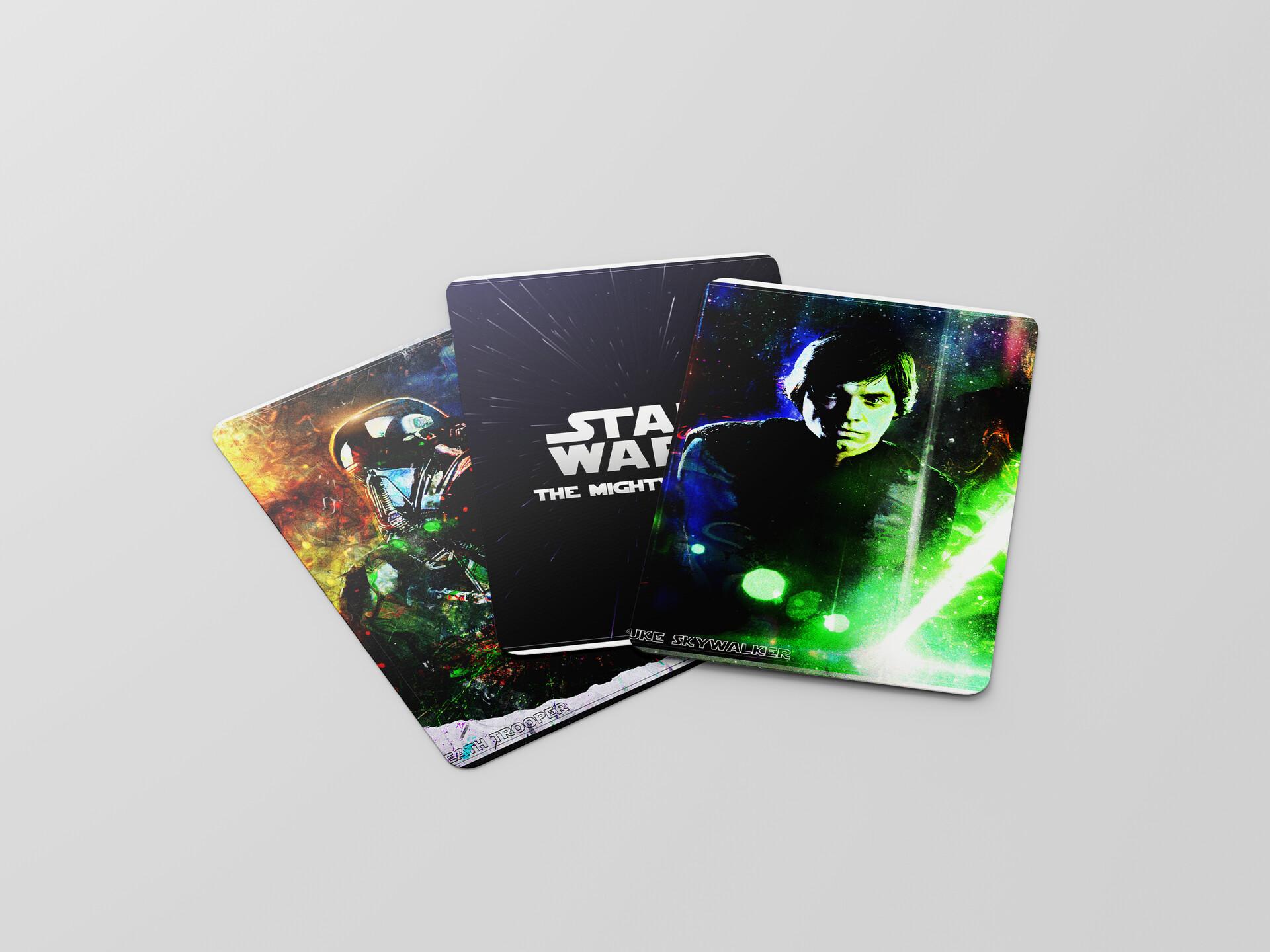 Artstation Star Wars The Mighty Cards 1st Wave Jakub Polach