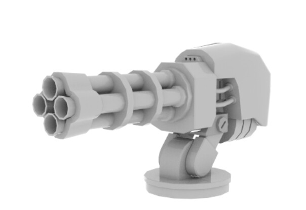 Machine Gun Wip - 14/06/2020