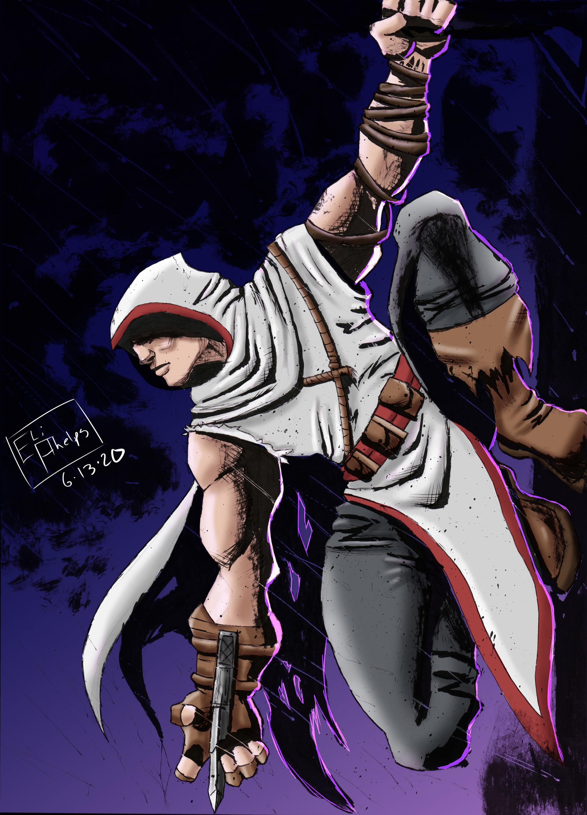 Elijah Phelps Assassins Creed Fanart