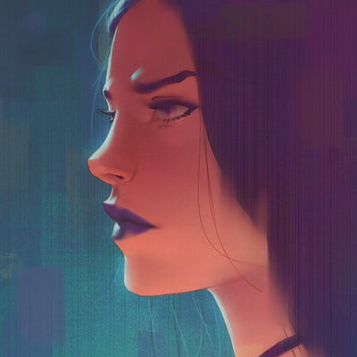 Ariel anabitarte sketch animestyle2