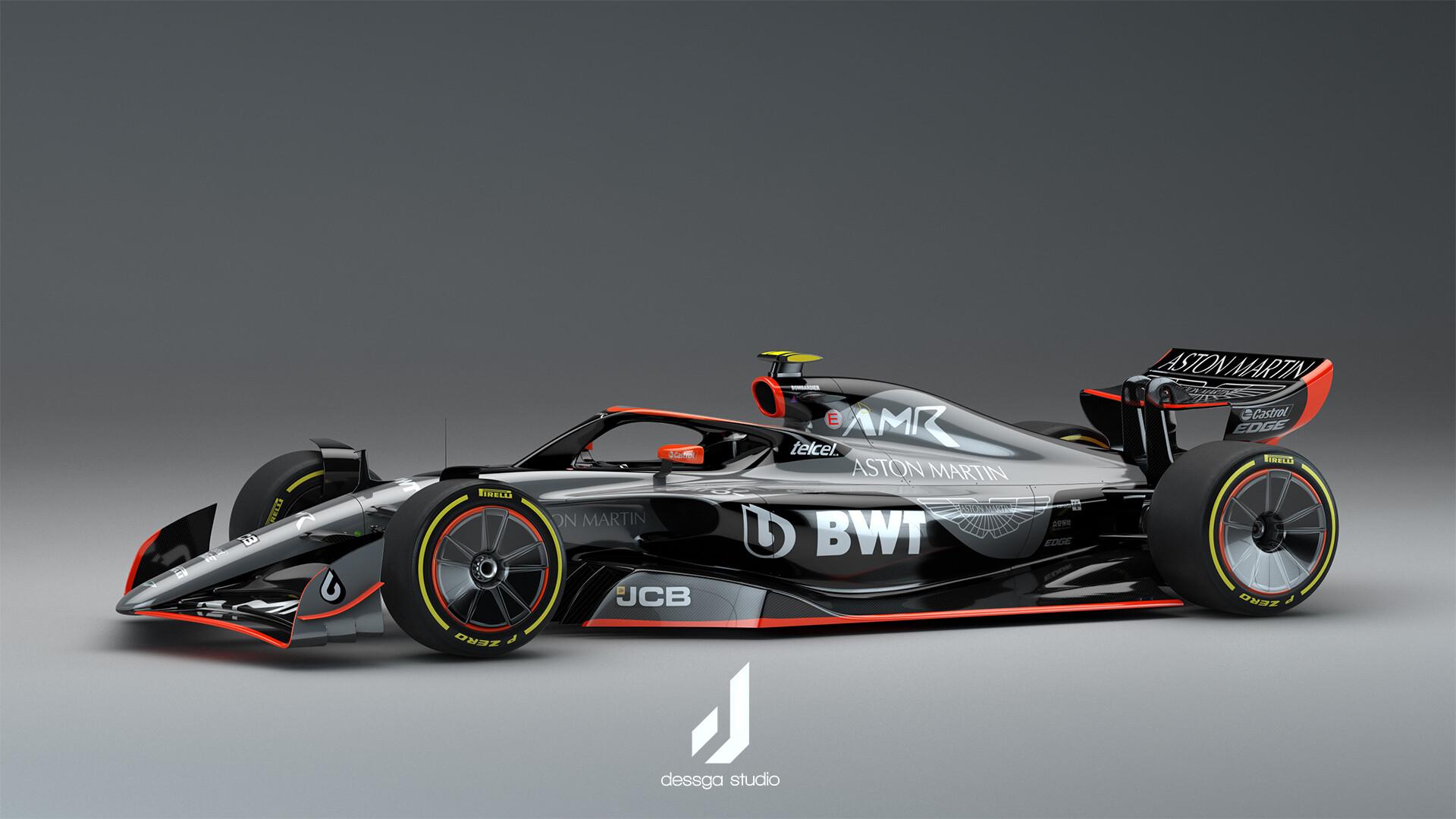 Dessga Arturo Garcia Aston Martin Formula 1 2022 Livery Concepts