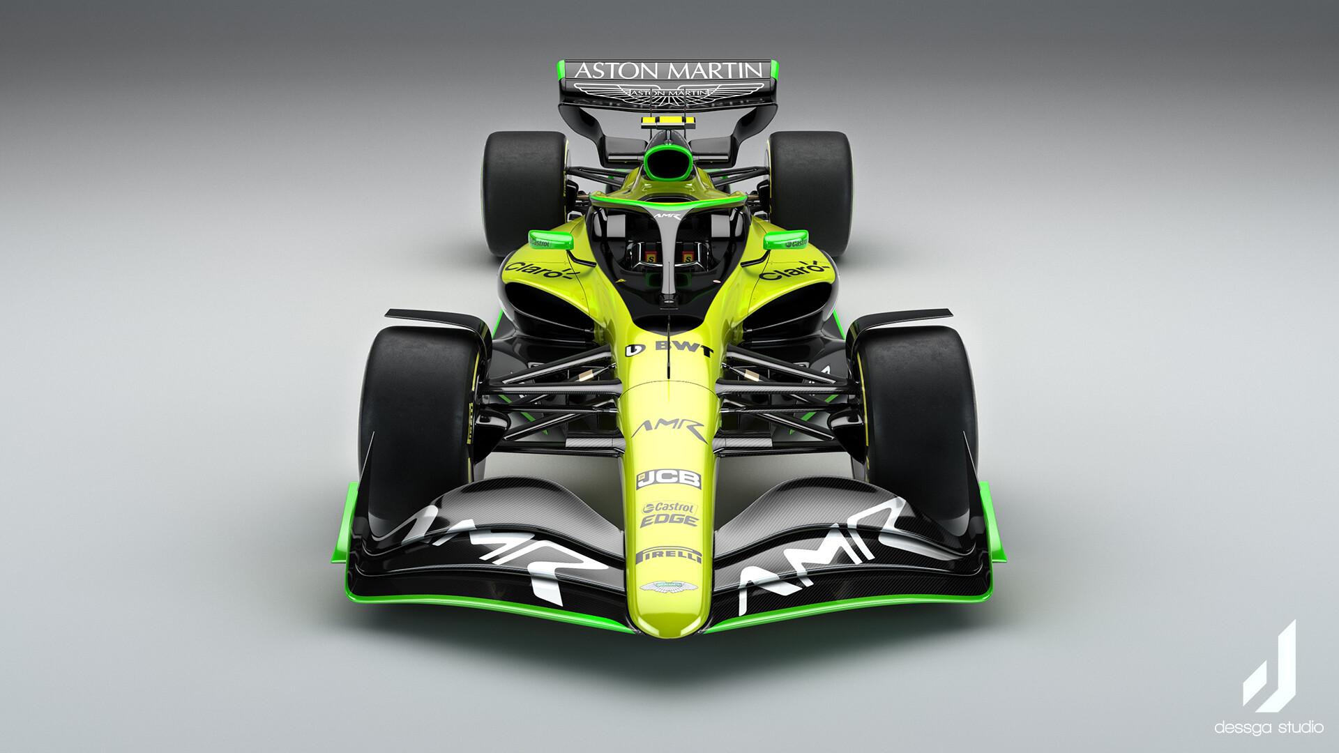 Artstation Aston Martin Formula 1 2022 Livery Concepts Dessga Arturo Garcia