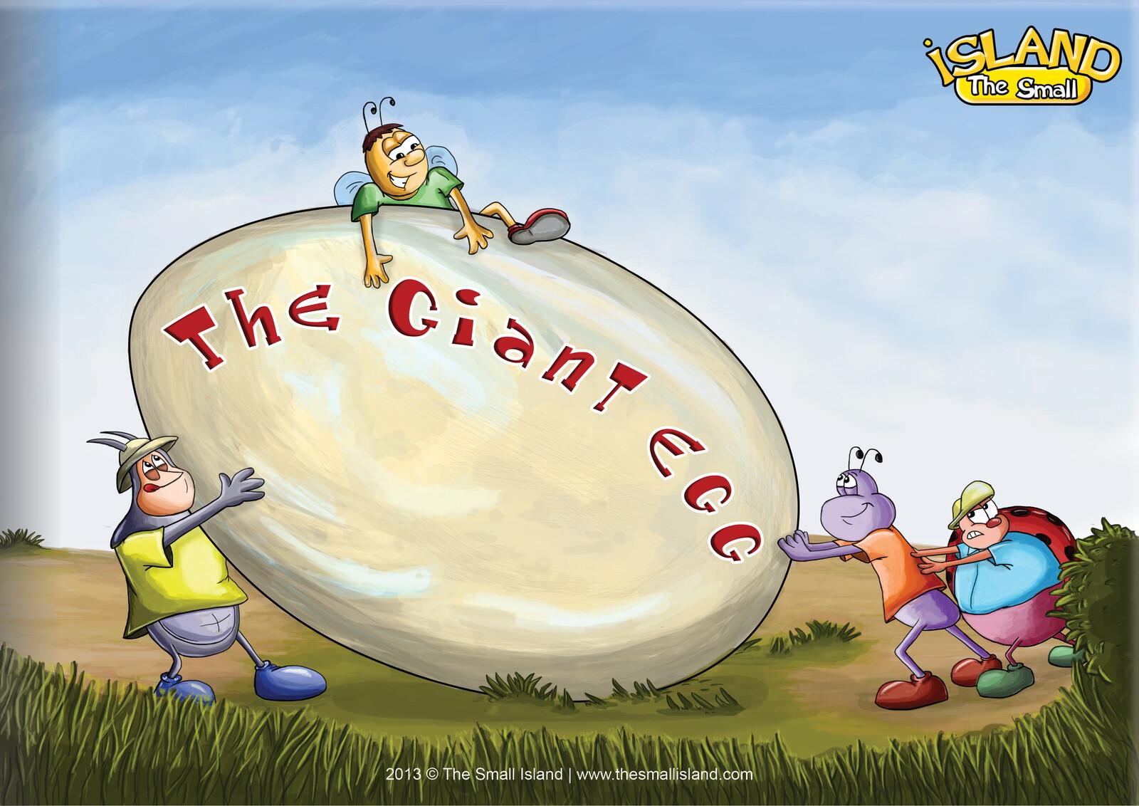 The Giant Egg, children book