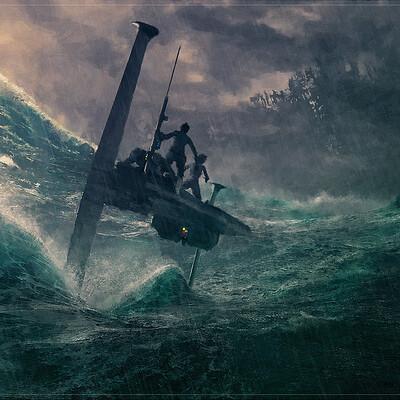 Sean hargreaves skiff sea