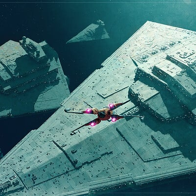 Sean hargreaves star destroyer battle 1 new 1