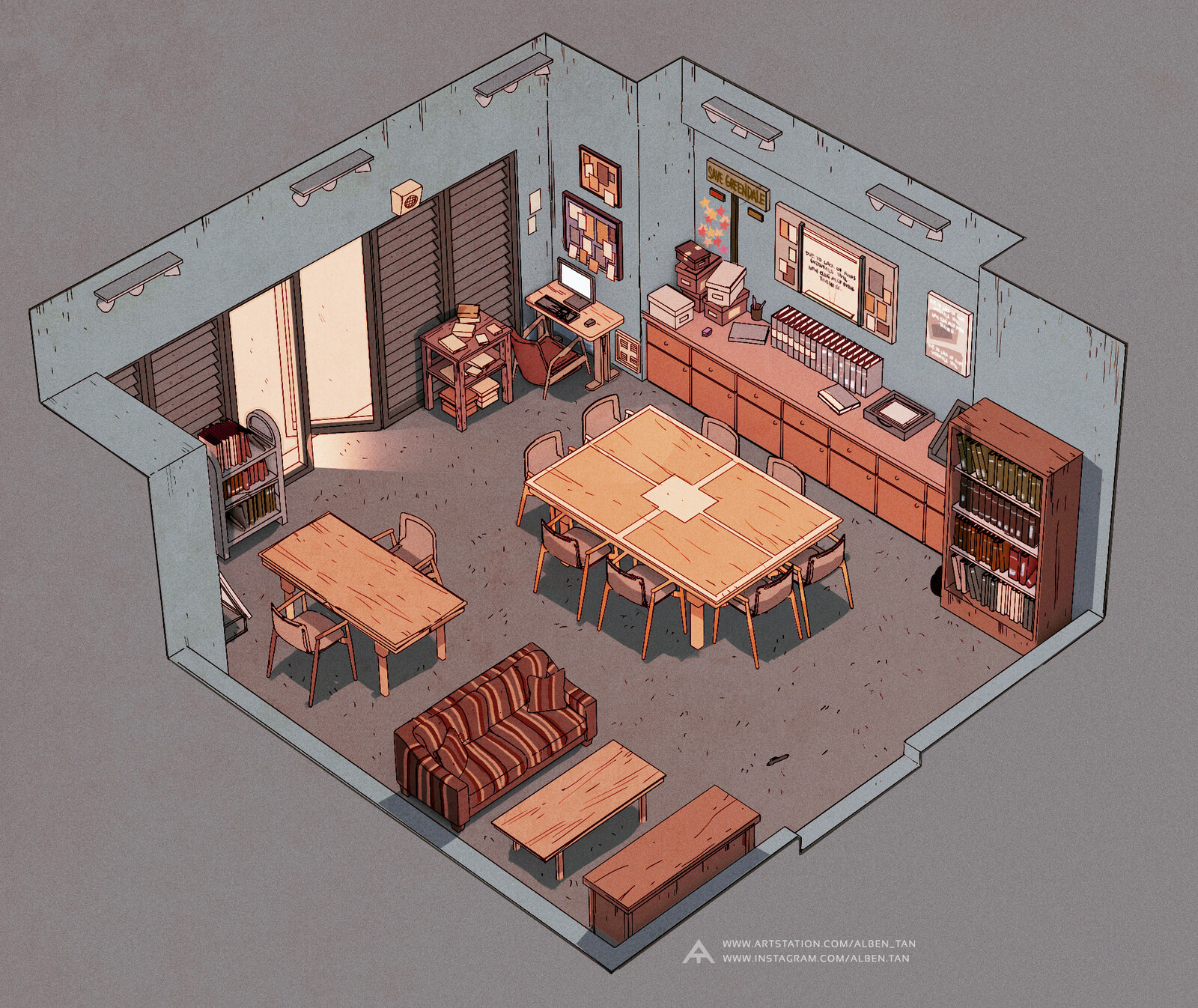 Community Study Room F