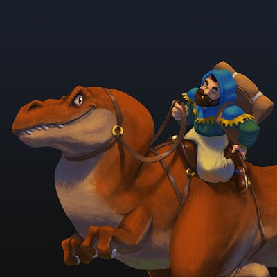 Zacharie denuel dino rider