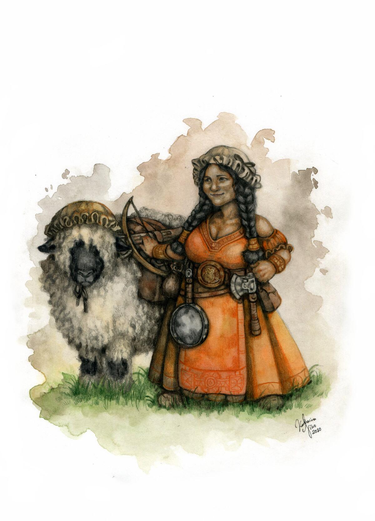 Dwarven Lady