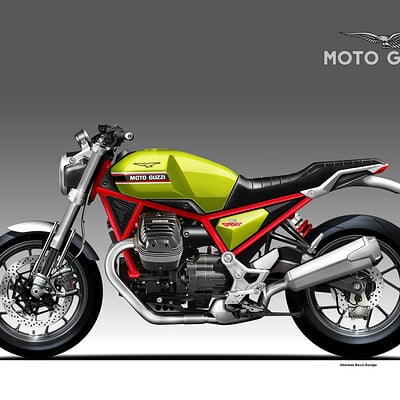 Oberdan bezzi moto guzzi v8 sport concept