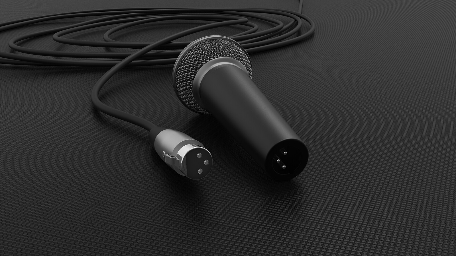 Shure SM58 Microphone and XLR Cable