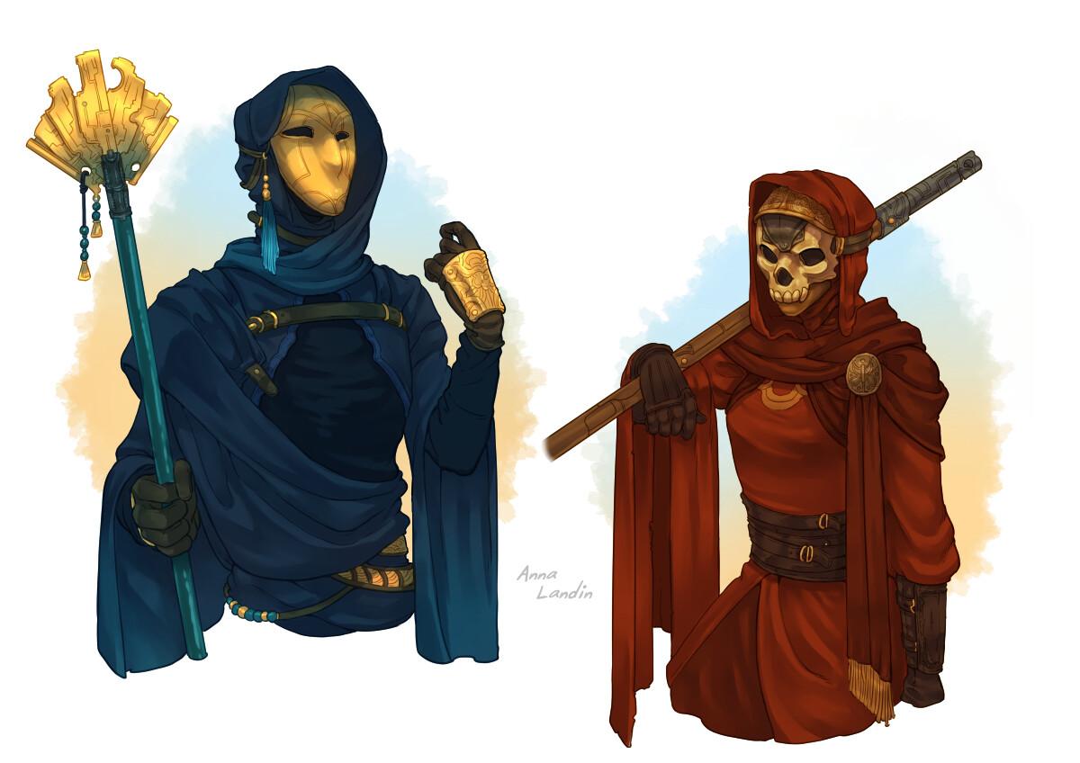 Scriptorium guards