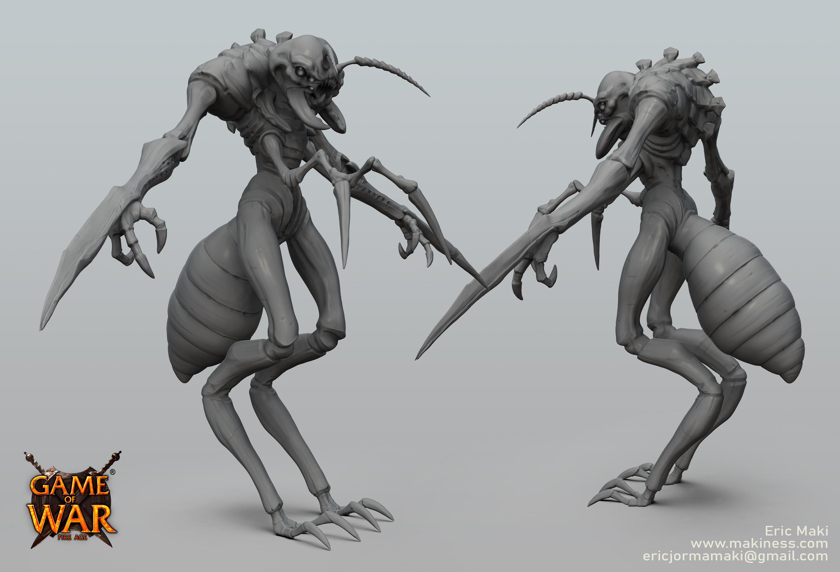 Ant Man Sculpt