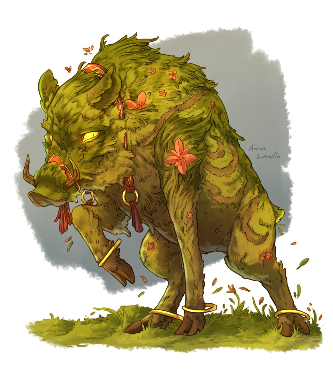 Serim the Oathbloom, summoned creature
