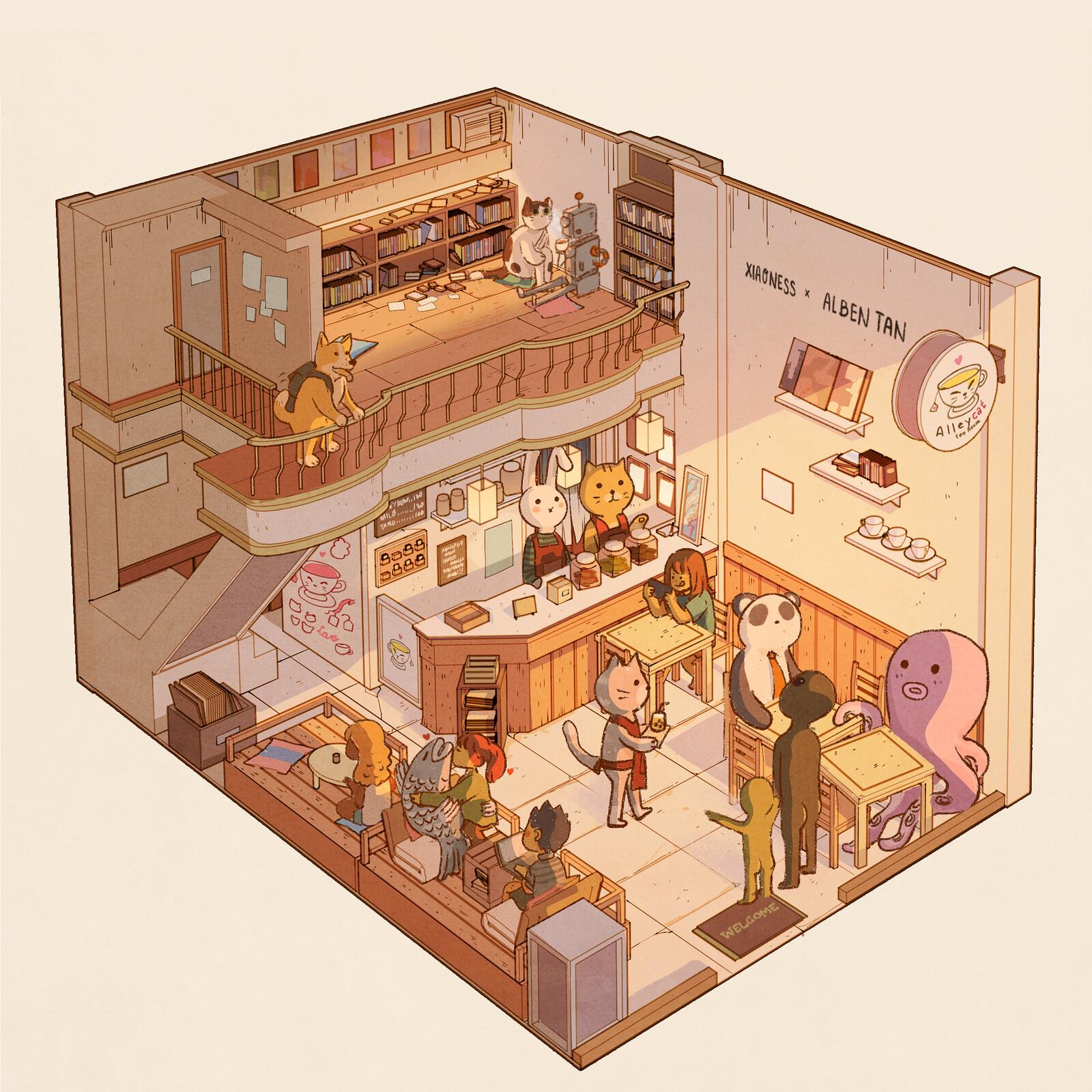 Alleycat Tea House