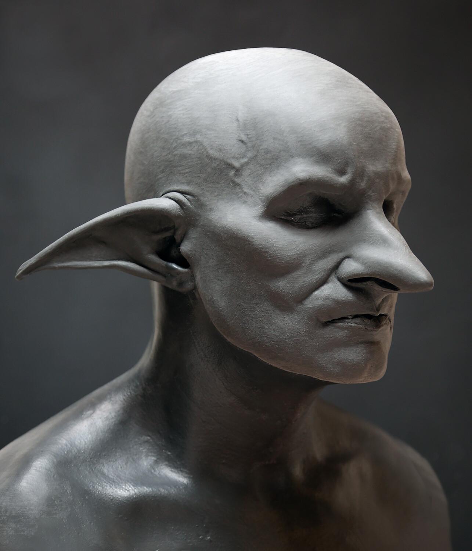 Artemis Fowl 2017, Various Goblin Concepts / Background Prosthetic Sculptures (wip)