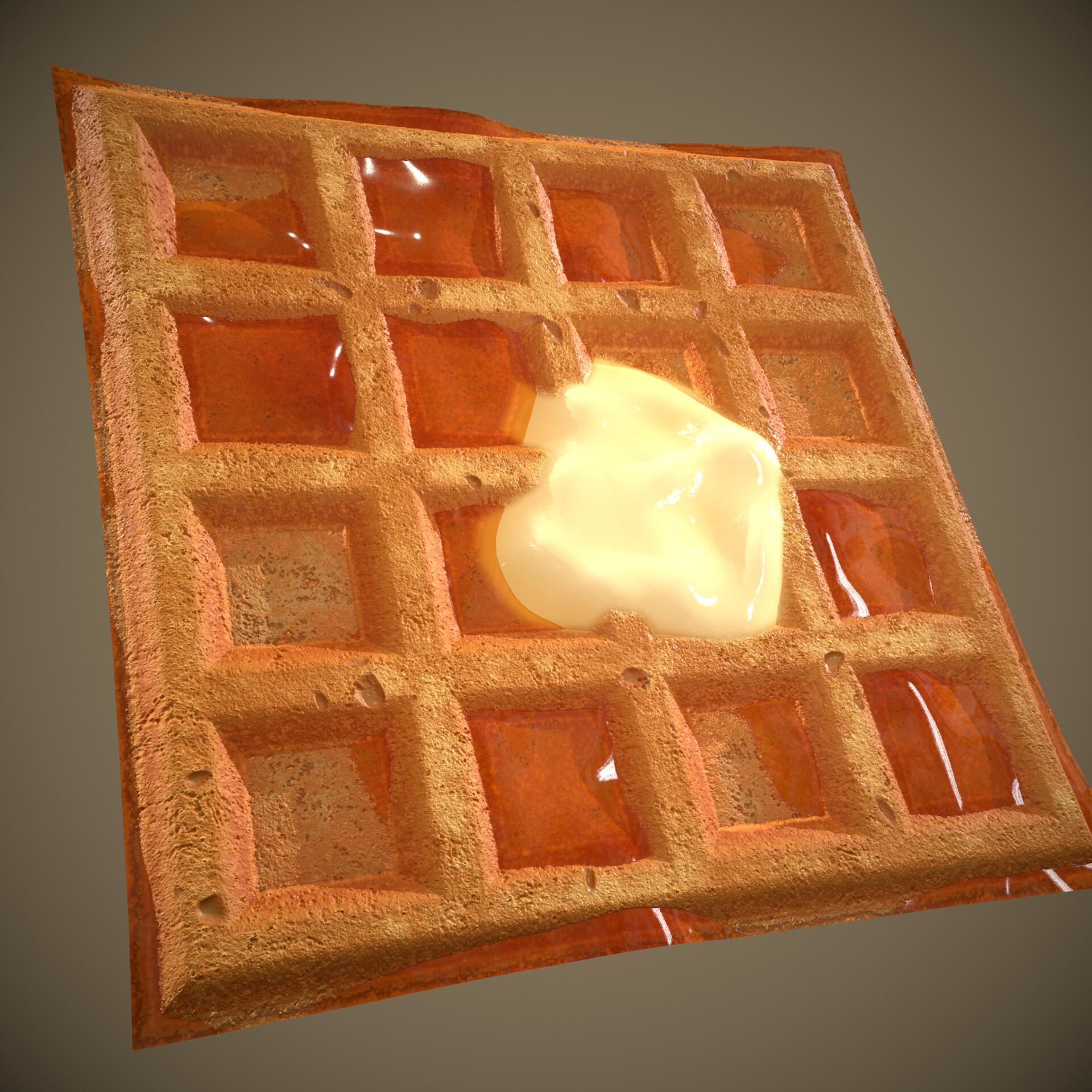 Waffle render