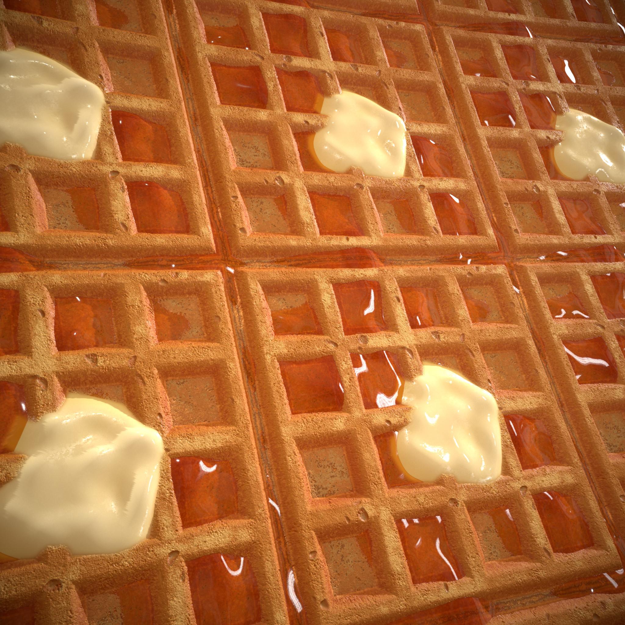 Tiled waffle render