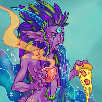 Randell fain pizzacard