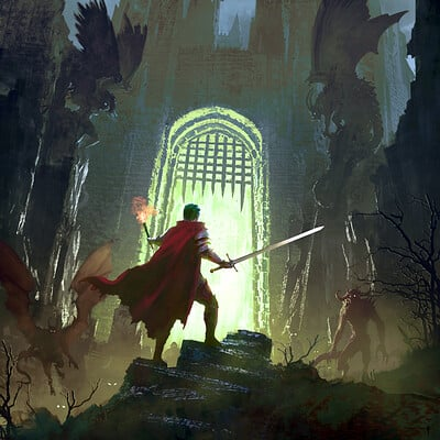 Felix ortiz nicky wuchinger into the dungeon 03 lr
