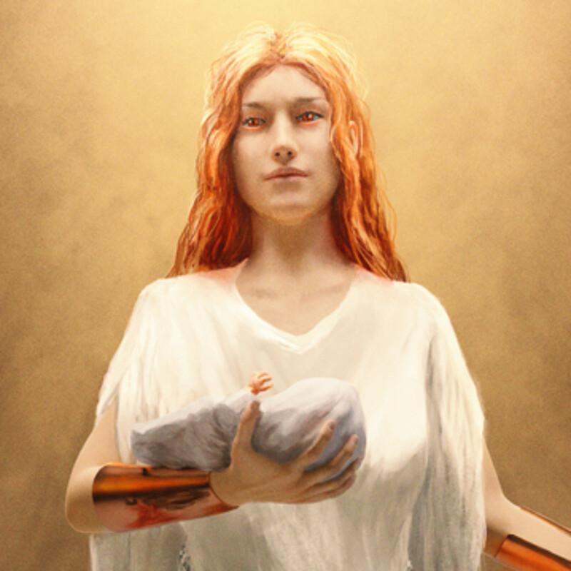Nanetia, goddess of Motherhood and War.