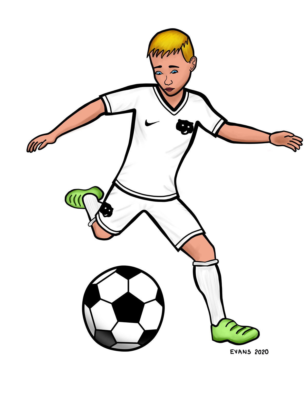 Aiden Soccer   2020