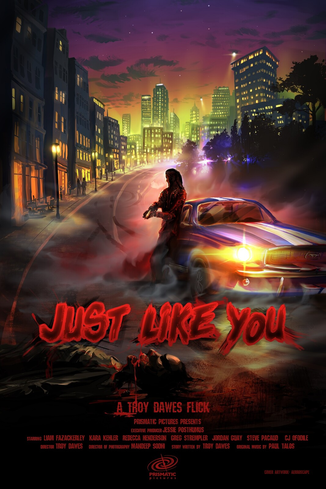 Just Like You poster with titles