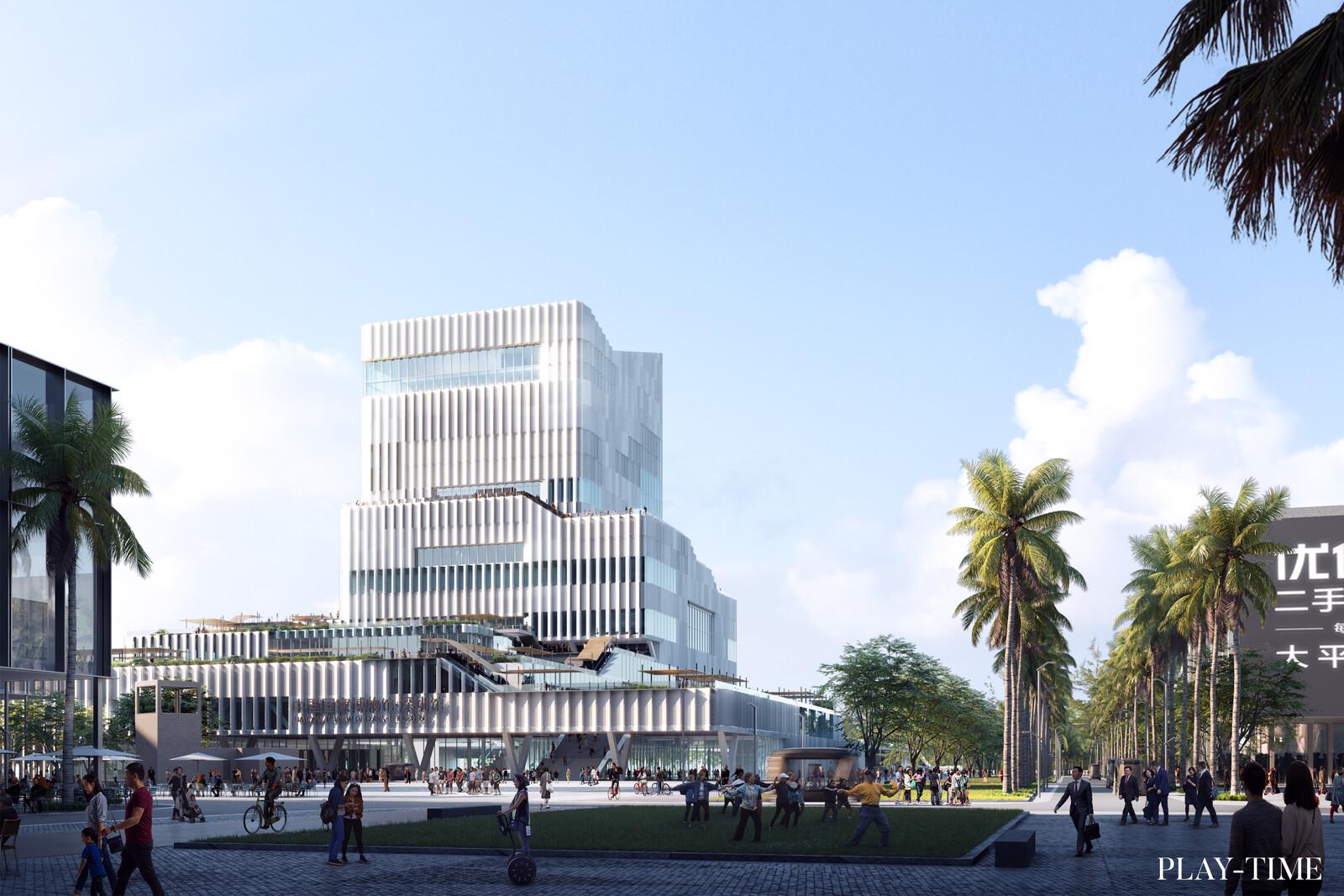 New International Museum in Quianhai