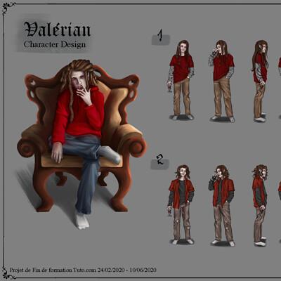 Viktor eustace tounissoux page 1 projet fin de formation tuto character design