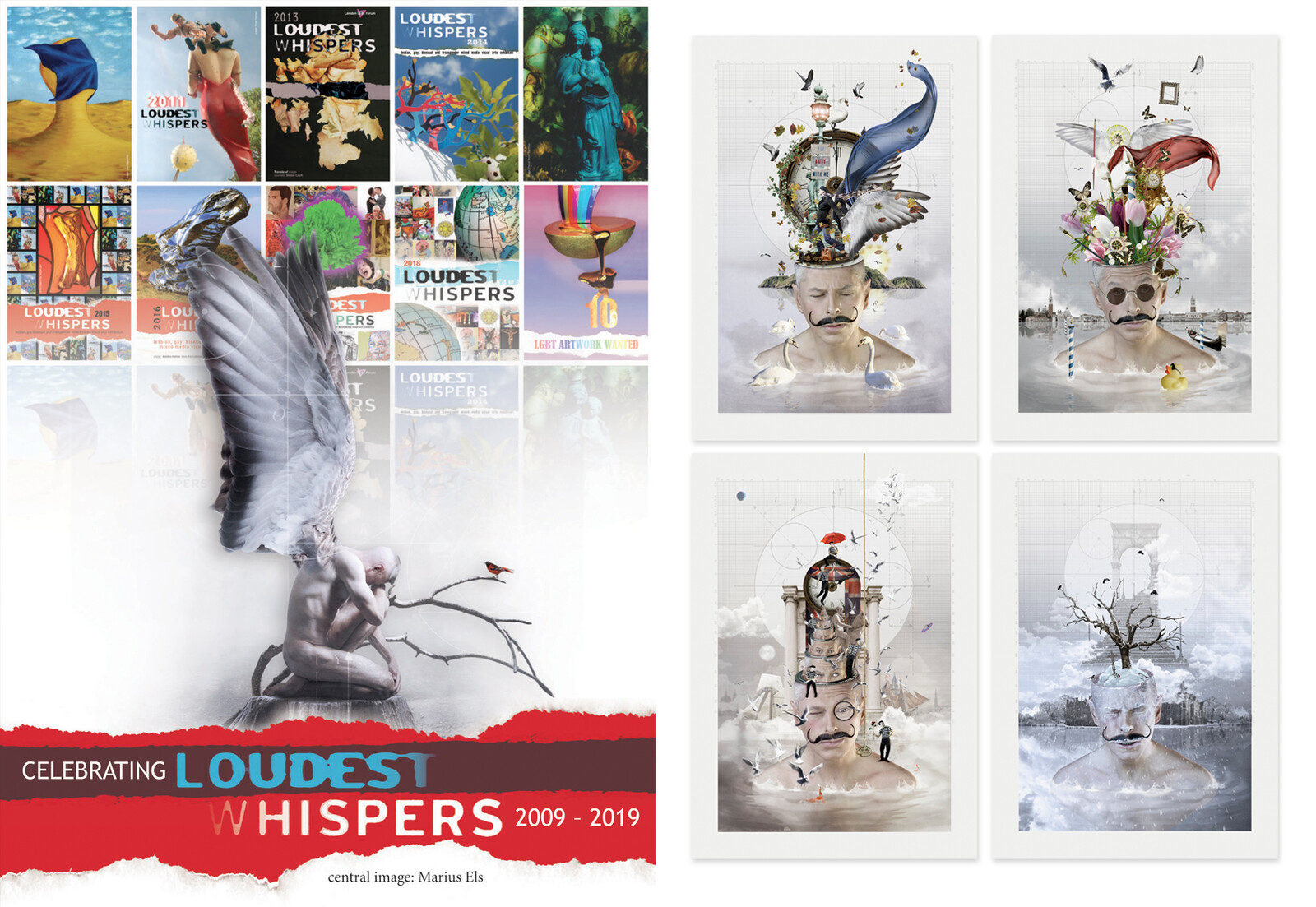 Seasons of the Mind - Loudest Whispers 2019 exhibition, London.