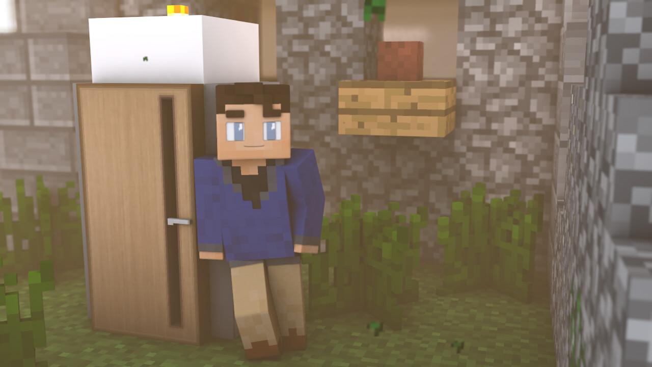 ArtStation - Minecraft renders, Marshall Meal