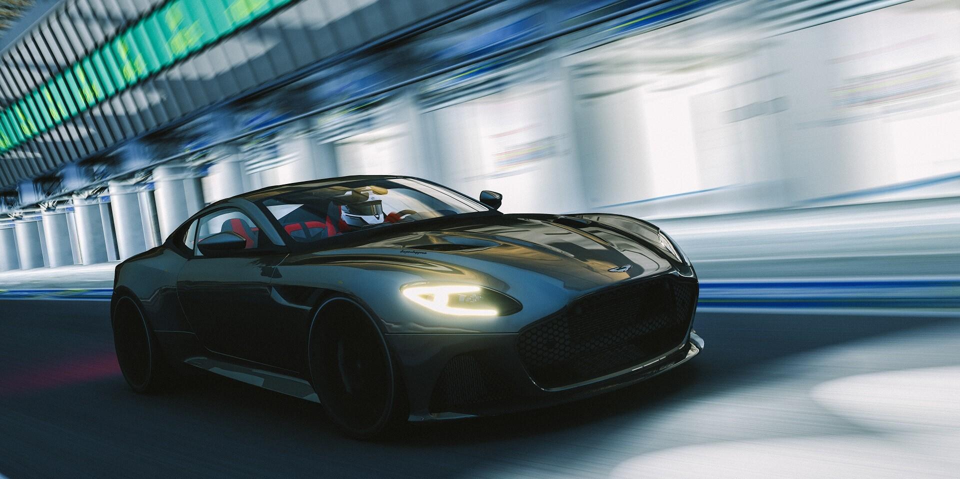 Artstation Assetto Corsa Aston Martin Dbs Superleggera Adam Baker
