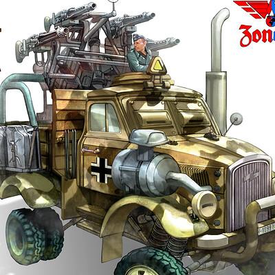 Weonsang ko 20160523 nazi vehicle15 3