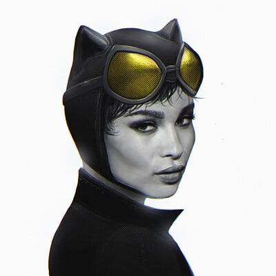 Arjun somasekharan zoe catwoman3