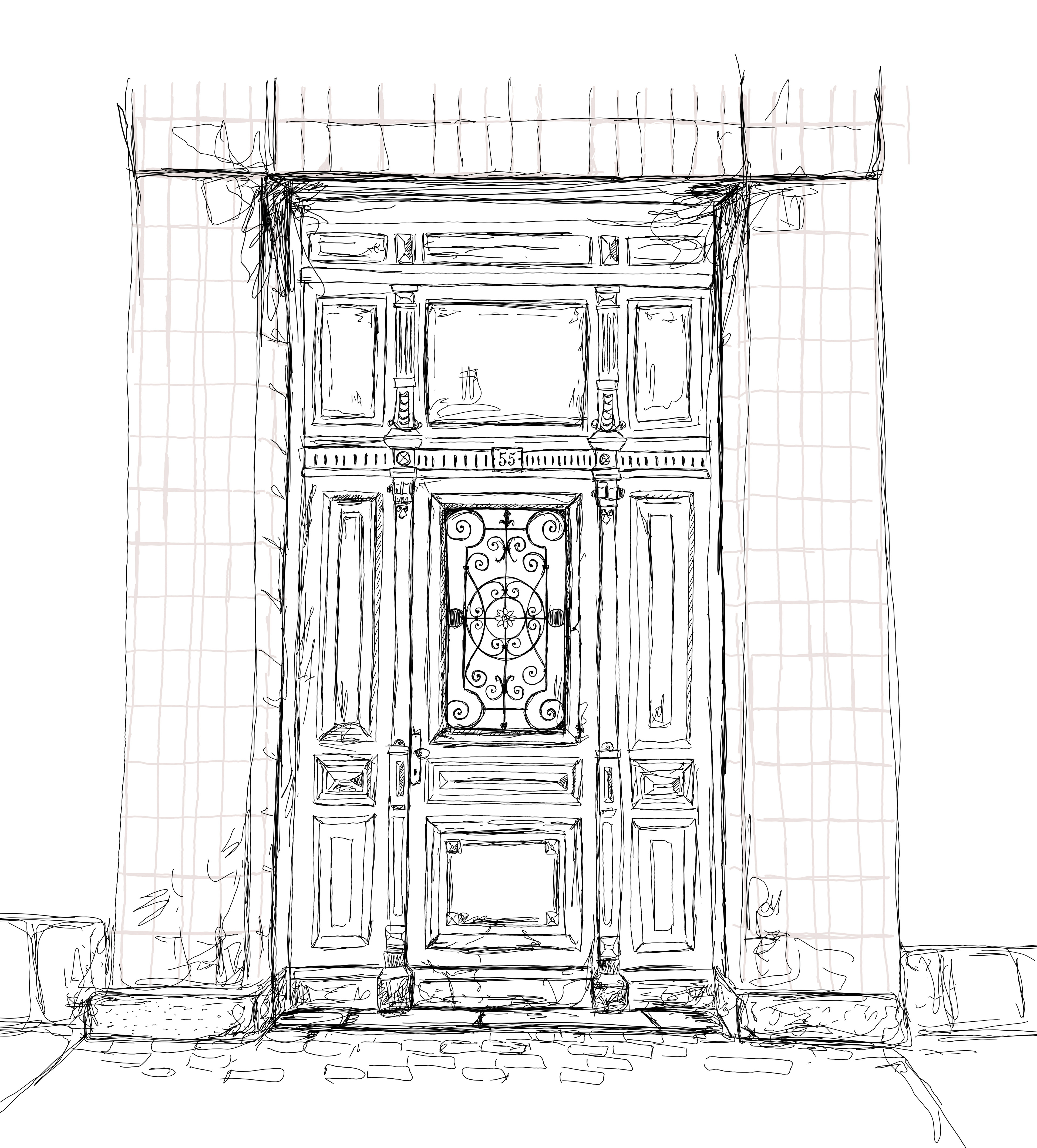 door nr 2, outline
