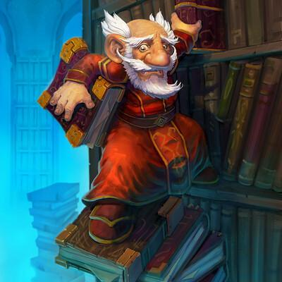 Joby dorr the gnome librarian