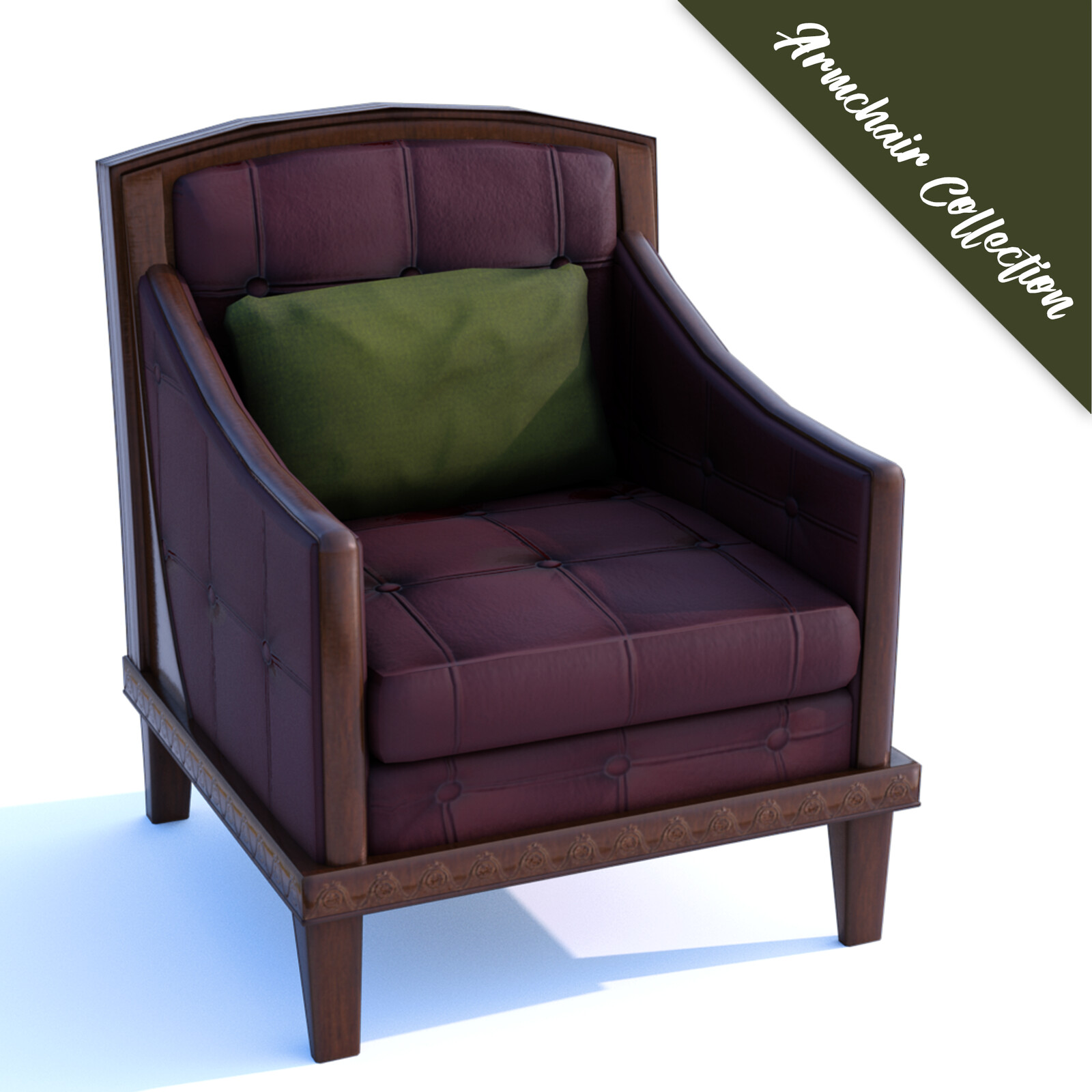 Armchair Collection (Game Ready)