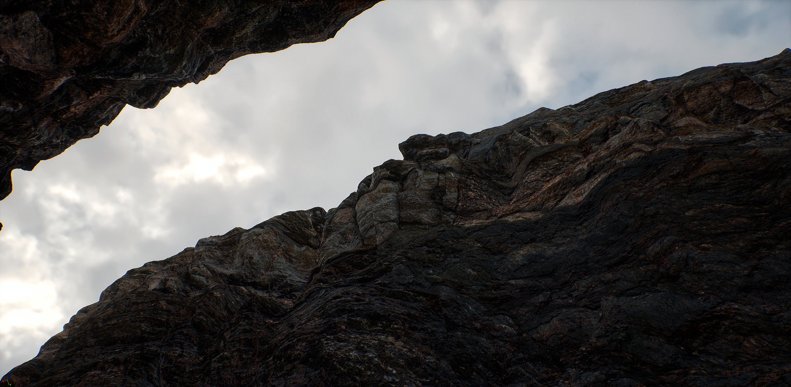 Dramatic cliffs unreal 4 capture